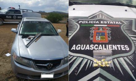 ¡Detuvieron a 3 delincuentes tras balazos y persecución por tierra y aire en Aguascalientes!