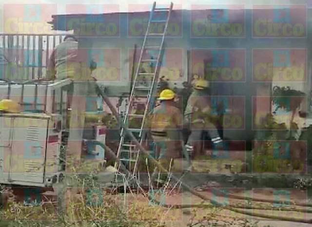 ¡Incendio arrasó con una humilde vivienda en San Juan de los Lagos!