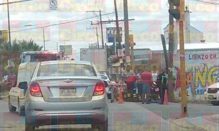 ¡Estudiante menor de edad fue atropellado por una automovilista en Lagos de Moreno!