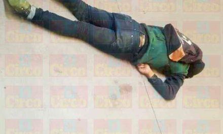 ¡Identificaron al ladrón que murió tras caer de 10 metros de altura al meterse a robar a una empresa en Lagos de Moreno!