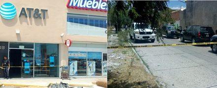 ¡Mini-comando asaltó una tienda AT&T en Aguascalientes y se llevó 300 celulares!
