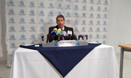 ¡Buen gobierno, certeza y crecimiento económico en la entidad aunque continúan los salarios bajos, resultados de evaluación de COPARMEX: Raúl González!