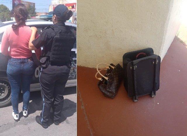 ¡Por secuestro exprés y robo calificado inician proceso a mujer que asaltó la casa parroquial del Templo del Señor de los Rayos en Aguascalientes!