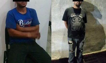 ¡Policías viales y municipales de Aguascalientes detuvieron a 2 sujetos que torturaban a un joven!