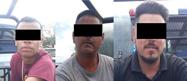 ¡Detuvieron a 3 sujetos y 2 mujeres en una flamante camioneta Hummer con 2 armas de fuego en Aguascalientes!