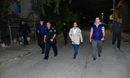 ¡Encabeza Miriam Rodríguez Tiscareño operativo de seguridad conjunto con la Guardia Nacional!
