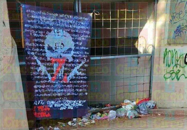 """¡En narco-mantas anuncian llegada del 'Grupo Operativo Engendros del Sr. 50 Z Vieja Escuela' para """"limpiar"""" Zacatecas!"""