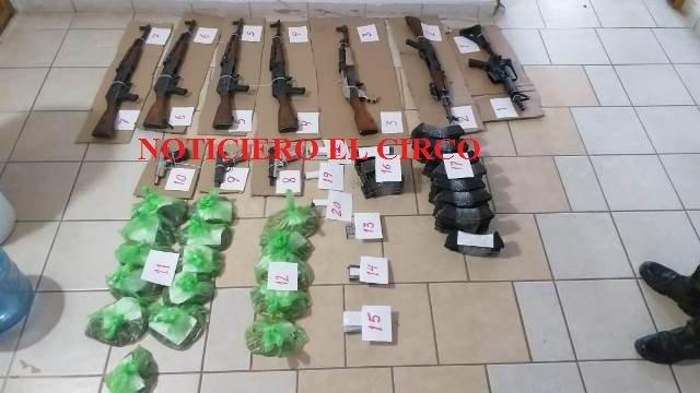 ¡Inician proceso penal federal a 9 sujetos detenidos con un arsenal en San Juan de los Lagos!