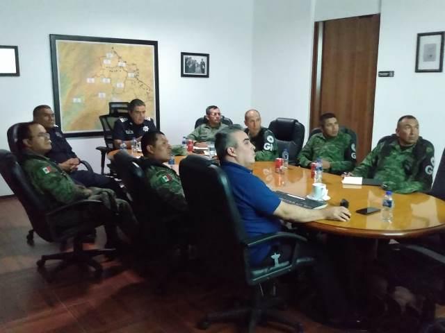 ¡Total coordinación entre la SSPE y la Guardia Nacional en Aguascalientes!