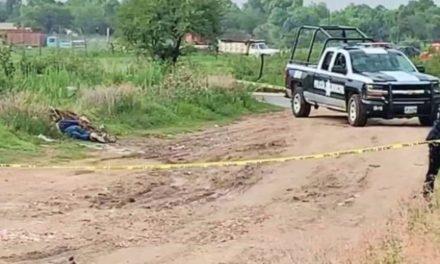 ¡A balazos ejecutaron a un hombre en San Miguel del Cuarenta en Lagos de Moreno!