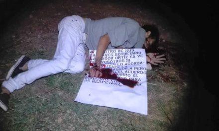 ¡Identificaron al hombre ejecutado a balazos en la carretera 70 Oriente en Aguascalientes!