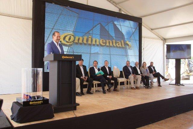 ¡Inicia construcción de nueva planta Continental en Aguascalientes!