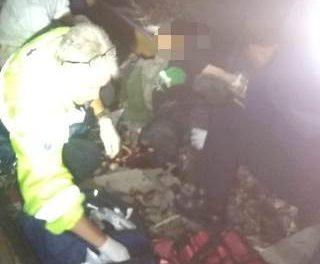 ¡El tren le amputó las piernas a trabajador de FERROMEX en Aguascalientes y está grave!