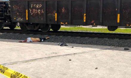¡Hombre discapacitado murió atropellado por el tren en Aguascalientes!