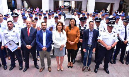 ¡Municipio de Aguascalientes dignifica la labor de los policías!