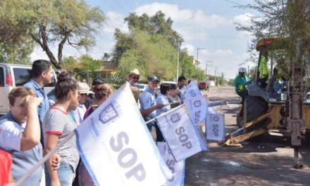 ¡Pavimentarán una de las principales vialidades de la cabecera municipal en Jesús María!