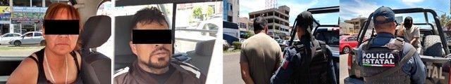 """¡Policías estatales de Aguascalientes dan otro golpe al narcomenudeo: detuvieron a 4 personas con más de un kilo de """"crystal""""!"""