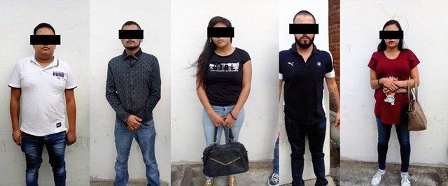 """¡Policías municipales de Aguascalientes detuvieron a banda de ladrones """"chilangos""""!"""