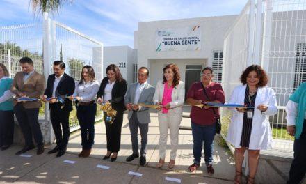 ¡Se inaugura en San Francisco de los Romo Unidad de Salud Mental!