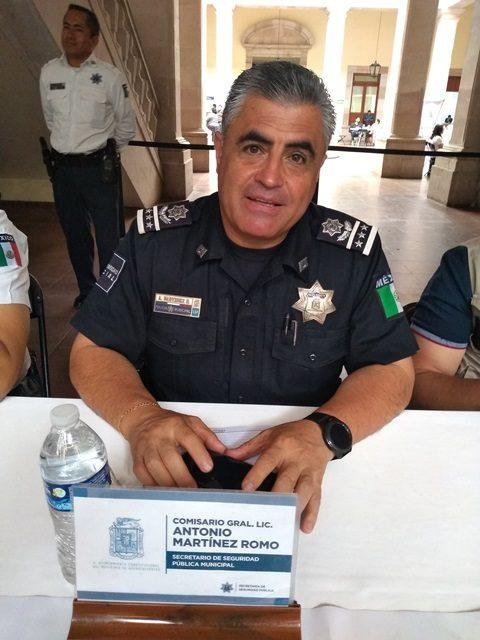 ¡5 mil detenidos dentro del operativo Barrio Seguro es un buen resultado, considera el Secretario de Seguridad Pública Municipal!