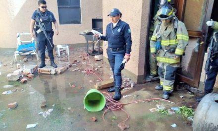 ¡Explosión de un tanque estacionario dejó 1 hombre muerto en Zacatecas!