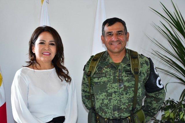 ¡Acuerdan trabajo conjunto Guardia Nacional y Municipio de Aguascalientes!