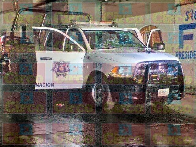 ¡Intentaron ejecutar a 3 policías municipales en Encarnación de Díaz!