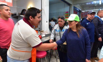 ¡Visita Miriam Rodríguez Tiscareño mercados del centro de la ciudad!