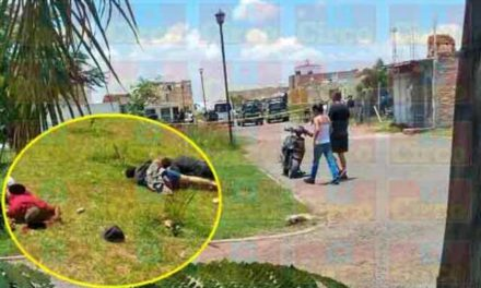 ¡Ejecutan a tres hombres por el Condominio Trébol en Lagos de Moreno!
