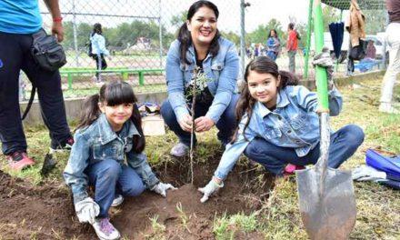 ¡456 mil nuevos árboles y plantas para el Municipio de Aguascalientes!