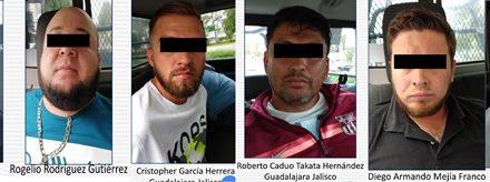 ¡Detuvieron a 6 integrantes del CJNG en Aguascalientes!