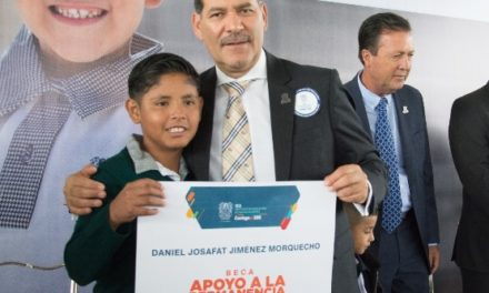 ¡Aguascalientes seguirá siendo el número uno en calidad educativa, infraestructura y con el mejor magisterio: MOS!