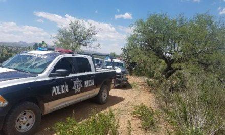 ¡Encontraron a un hombre asesinado-enlonado y amarrado en un monte en Aguascalientes!