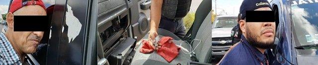 """¡Otro golpe al narcomenudeo en Aguascalientes: detuvieron a 2 sujetos con 10 kilos de """"crystal""""!"""