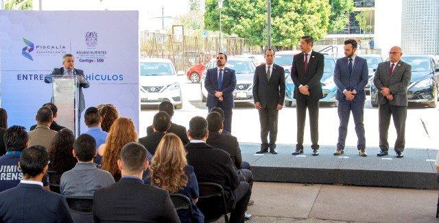 ¡Gobierno del Estado fortalece capacidad operativa de la FGE con la entrega de nuevos vehículos!