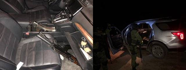 ¡Guardia Nacional aseguró marihuana y armamento en Guanajuato!