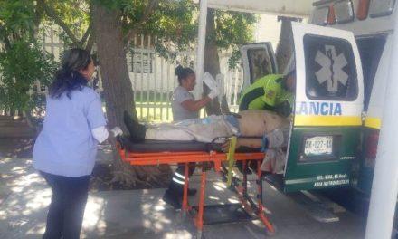 ¡Hombre fue baleado en Jalisco y terminó hospitalizado en Aguascalientes!