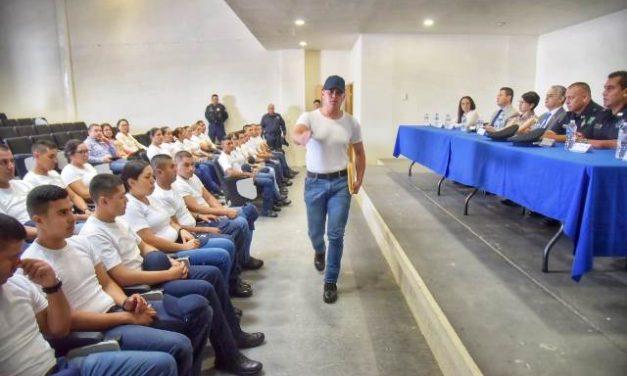 ¡Inician su formación como policías preventivos, 29 cadetes de Jesús María y Calvillo!