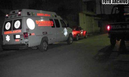 ¡Intentaron ejecutar a un hombre con armas de fuego largas en Luis Moya y quedó herido!