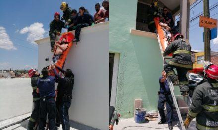 ¡Grave pintor que se electrocutó en Aguascalientes!