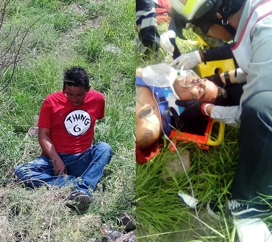 ¡Grave hombre que fue atropellado por el tren en Aguascalientes!