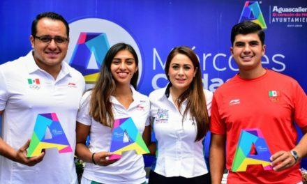 ¡Destacados deportistas hidrocálidos se reunieron con Tere Jiménez!