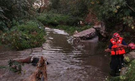 ¡Hallaron a un hombre ahogado y putrefacto en un arroyo en Aguascalientes!