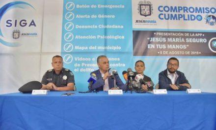"""¡Presenta el Gobierno de Jesús María al aplicación de seguridad ciudadana """"SIGA""""!"""