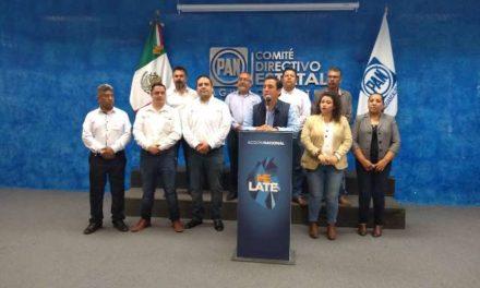 ¡Pide el PAN a Jorge López que tenga cuidado con las acusaciones que hace a los panistas, dice Gustavo Báez!