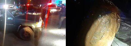 ¡Policías estatales de Aguascalientes aseguraron 60 kilos de marihuana en una camioneta!