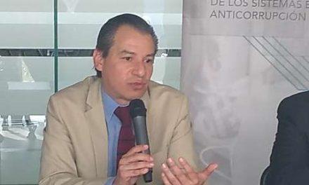 ¡Sólo el 10 por ciento de los actos de corrupción se denuncian: Bernardo Rojas!