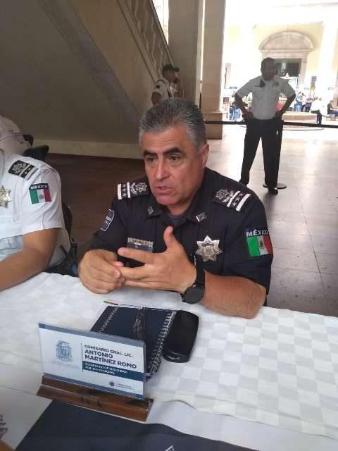 ¡Se espera tener 34 módulos de la Policía Municipal en toda la ciudad para servicio de la Guardia Nacional: Antonio Martínez Romo!