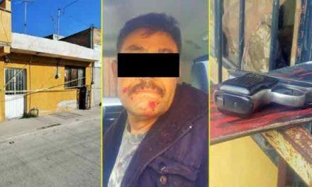 ¡Sujeto intentó asesinar a balazos a su esposa en Aguascalientes y la dejó grave!