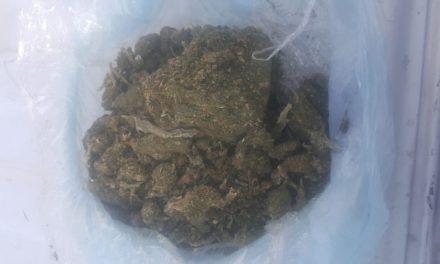 ¡Zacatecano fue detenido con 350 gramos de marihuana en Aguascalientes!